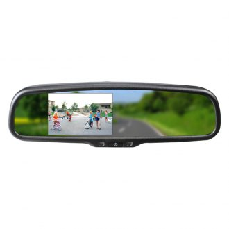 "BOYO® - Factory Style Rear View Mirror with Built-in 4.3"" Monitor and Bluetooth"