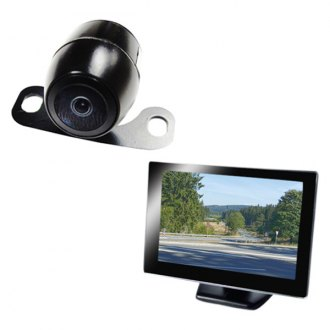 "Boyo® - Rear View System with 4.3"" Monitor and Surface Mount Camera"