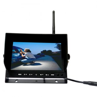 "Boyo® - Wireless Rear View System with 7"" Monitor and Surface Mount Camera"