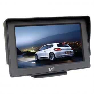 "BOYO® - 4.3"" Monitor with Suction Cup Mount"