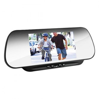 "BOYO® - Rear View Mirror with Built-in 6"" Monitor and Remote Control"