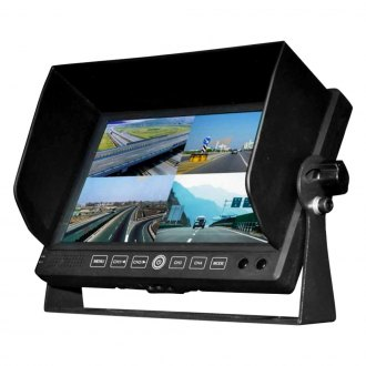 "BOYO® - 7"" Quad Split Screen Monitor"