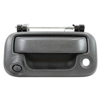 BOYO® - Tailgate Handle Mount Black Rear View Camera