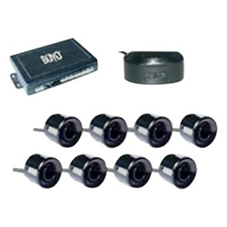 BOYO® - Black 8 Parking Sensors System