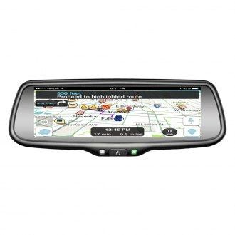 "BOYO® - Factory Style Rear View Mirror with Built-in 7.3"" Monitor and Wi-Fi Miracast™"