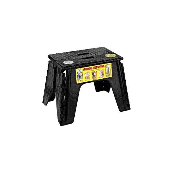 B Amp R Plastics 174 10635 12 Quot Black Folding Step Stool