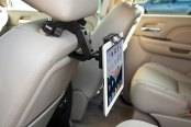 Bracketron® - Tablet Headrest Mount in Use