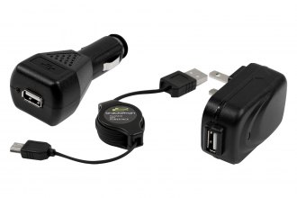 Bracketron® - GPS Power-Pack™ with Retractable USB