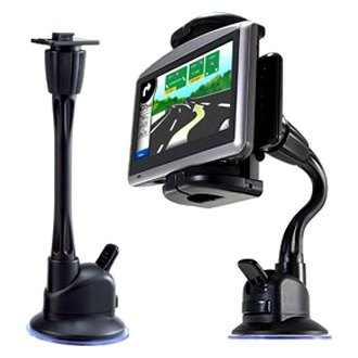 "Bracketron® - 9"" Flexible Windshield Suction Cup Mount with Grip-iT Device Holder"
