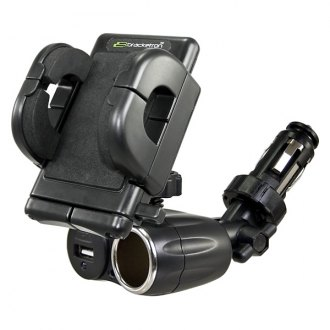 Bracketron® - PowerDock™ Dual Auxiliary USB Power Mount