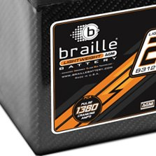 Braille Battery® - Carbon Fiber Advanced Agm Battery