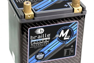 Braille Battery® - Lithium 12 Volt Battery Micro-Lite Carbon