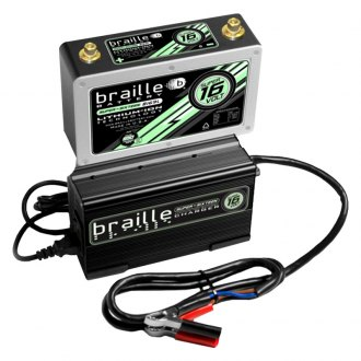 Braille Battery® - Super Lithium Battery and Rapid Charger