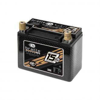 Braille Battery® - Carbon Fiber Advanced 12V AGM Battery