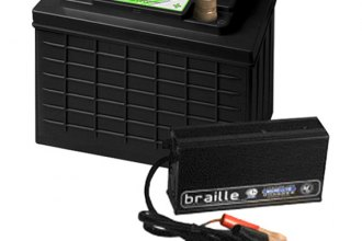 Braille Battery® - Green Lite Lithium Battery and Rapid Charger Combos