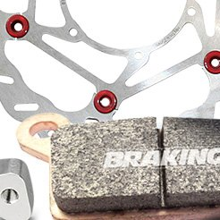 Braking® - Brake Disk Wave Floating Steel Hub
