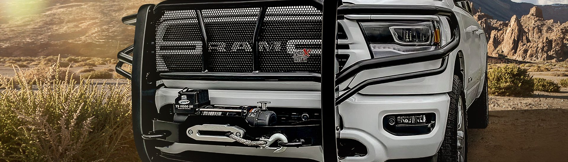 For All HD Truck Owners Out There - Brand-New HDX Winch Mount Grille Guard By Westin