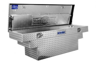 Better Built® - Crown Series Deep Crossover Tool Box, Universal Notches to Accommodate Wheel Wells Single Lid