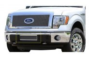 Carriage Works® 39126 - Bumper Valance Grille Insert