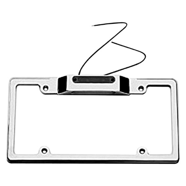 Carriage Works® - License Plate Frame with Light and 3rd Brake Light