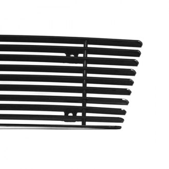 Carriage Works® - 1-Pc Black Billet Main Grille