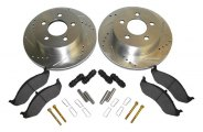 Crown® - Disc Brake Pad and Rotor Kit
