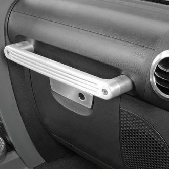 Drake Off Road® - Brushed Billet Aluminum Roll Bar Grab Handle