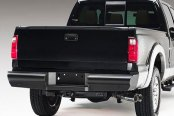 Image may not reflect your exact vehicle! Fab Fours™ - Elite Uncoated/Paintable Rear Bumper