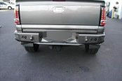 Image may not reflect your exact vehicle! Fab Fours® - Premium Uncoated/Paintable Rear Bumper