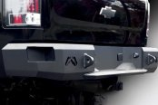 Image may not reflect your exact vehicle! Fab Fours™ - Premium Rear Bumper