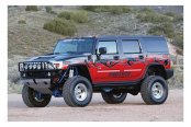Image may not reflect your exact vehicle! Fabtech® - Lift Kit-Suspension w/Shock