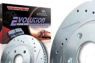 POWER STOP® - Disc Brake Pad and Rotor Kit