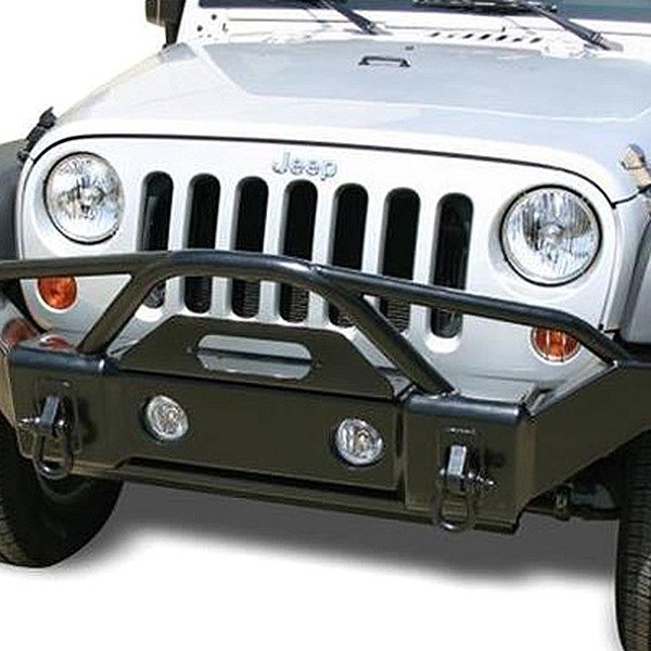 Rampage® - Recovery Semi-Gloss Black Front Bumper