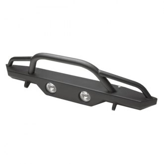 Rampage® - Recovery Full Width Black Front HD Bumper