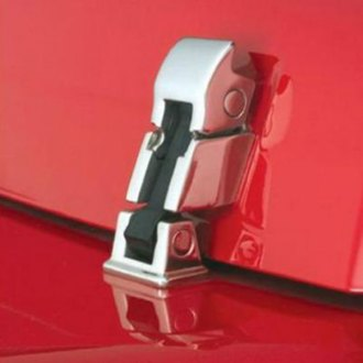 Rampage® - Polished Rock Runner Hood Latch Assembly