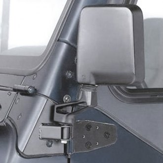 Rampage® - Off Road Coat Black Mirror Relocation Brackets
