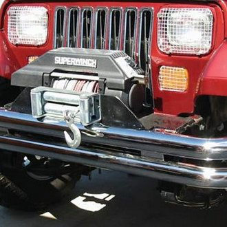 Rampage® - Double Full Width Polished Front or Rear Tubular Bumper
