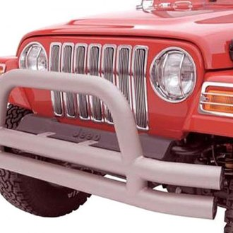 Rampage® - Double Full Width Front Tubular Bumper