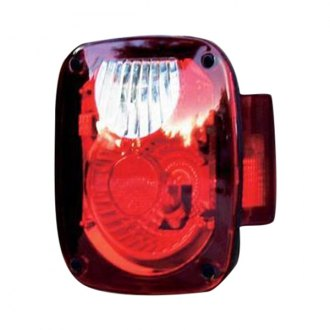 Rampage® - Chrome/Red Tail Light Kit