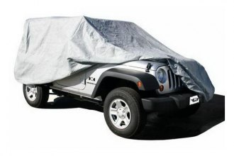 Rampage® - Gray Universal Car Cover