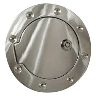 Rampage® - Locking Chrome Gas Cap Cover