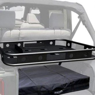 Image may not reflect your exact vehicle! Rampage® - Storage Rack