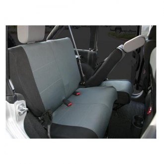 Rampage® - Factory Black Denim Front Seat Cover