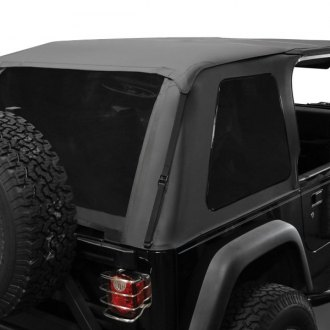Rampage® - Black Diamond Frameless Soft Top Kit