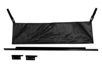 Rampage® - Black Tailgate Tonneau Bar Kit