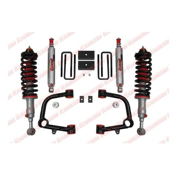 Rancho® - Lift Kit-Suspension w/Shock