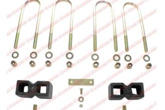Rancho® - Suspension Block and U-Bolt Kit