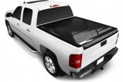 Image may not reflect your exact vehicle! Retrax® - PowertraxONE™ Retractable Tonneau Cover