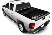 Image may not reflect your exact vehicle! Retrax® - PowertraxPRO™ Retractable Tonneau Cover