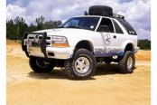 Image may not reflect your exact vehicle! Superlift® - Lift Kit-Suspension w/Shock
